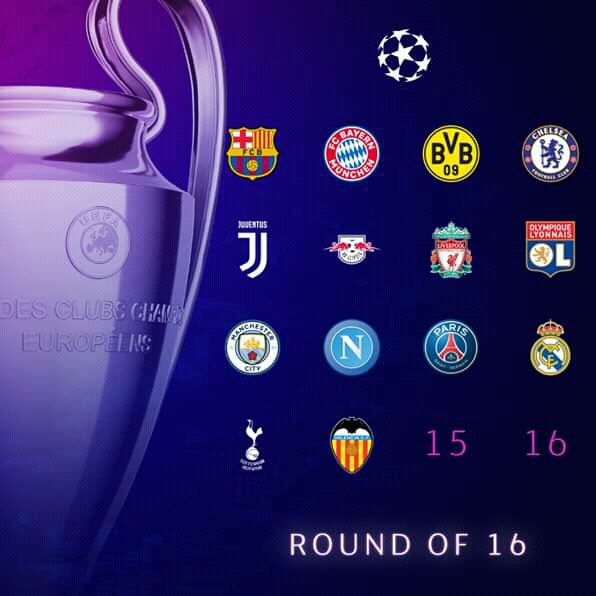 UEFA UEFA: TWO LEFT TO COMPLETE THE ROUND F 16