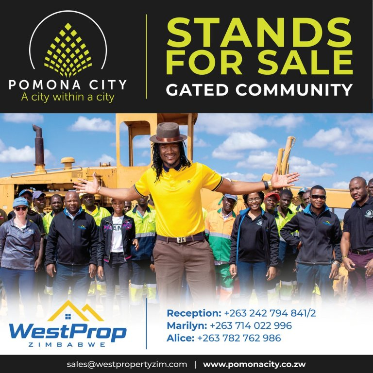 Jah Prayza features in the residential stands advert